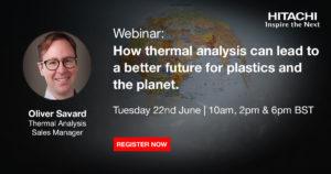 Szkolenie - Analiza Termiczna dla tworzyw sztucznych i planety - HITACHI